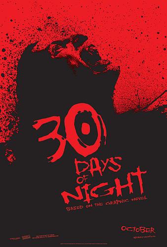 Póster de 30 Días de Noche